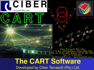 The CART Software Developed by Ciber Terrasoft (Pty.) Ltd.