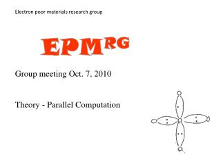 Electron poor materials research group