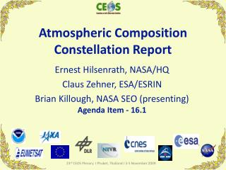 Atmospheric Composition Constellation Report