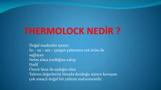 THERMOLOCK NED?R ?
