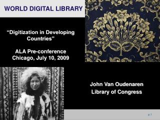 John Van Oudenaren Library of Congress