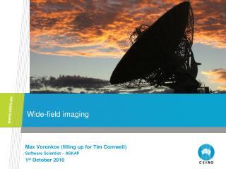 Wide-field imaging
