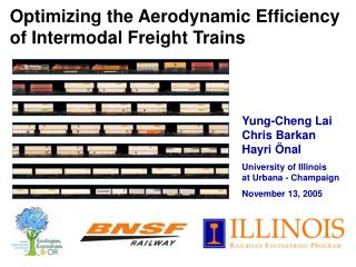 Optimizing the Aerodynamic Efficiency of Intermodal Freight Trains