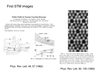 Phys. Rev. Lett. 49, 57 (1982)