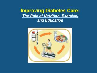 Improving Diabetes Care: The Role of Nutrition, Exercise,  and Education