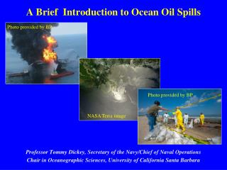 A Brief  Introduction to Ocean Oil Spills