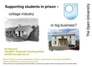 Supporting students in prison –