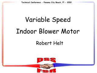 Variable Speed Indoor Blower Motor
