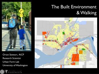 The Built Environment & Walking