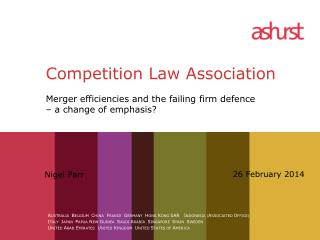 Competition Law Association