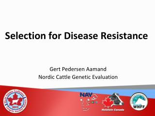 Selection for Disease Resistance