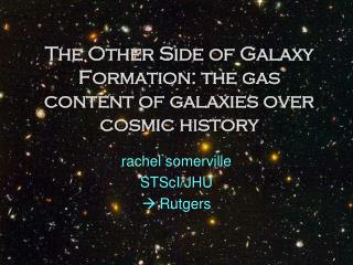 The Other Side of Galaxy Formation: the gas content of galaxies over cosmic history