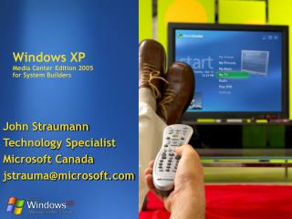 Windows XP  Media Center Edition 2005 for System Builders