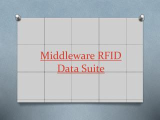 Middleware RFID Data Suite