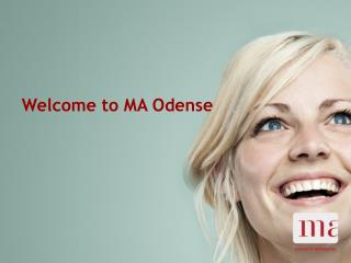 Welcome to MA Odense