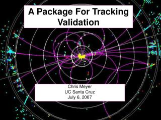 A Package For Tracking Validation