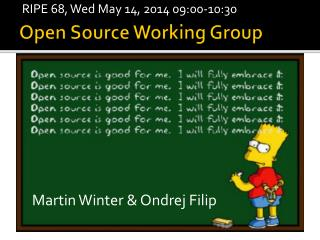 Open Source Working Group