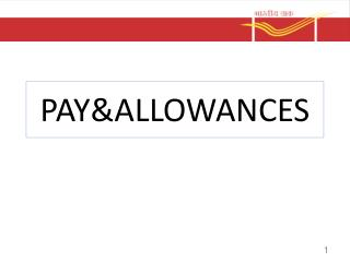 PAY&ALLOWANCES