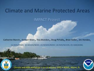 Climate and Marine Protected Areas