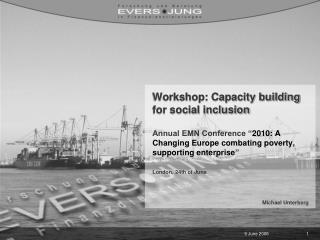 Workshop: Capacity building for social inclusion