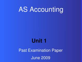 AS Accounting