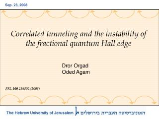 Correlated tunneling and the instability of the fractional quantum Hall edge