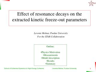 Effect of resonance decays on the extracted kinetic freeze-out parameters