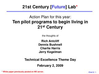 21st Century [ Future ] Lab *