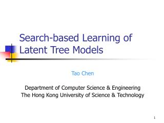 Search-based Learning of Latent Tree Models