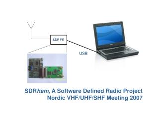 SDR ham,  A Software Defined Radio Project Nordic VHF/UHF/SHF Meeting 2007