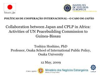 Toshiya Hoshino, PhD Professor, Osaka School of International Public Policy, Osaka University