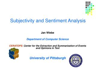 Subjectivity and Sentiment Analysis