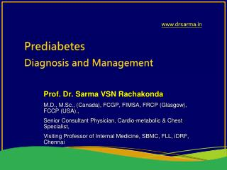 Prediabetes  Diagnosis and Management