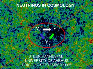 NEUTRINOS IN COSMOLOGY