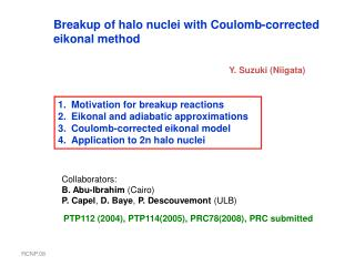 Breakup of halo nuclei with Coulomb-corrected  eikonal method