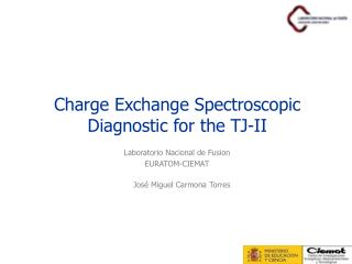 Charge Exchange Spectroscopic Diagnostic for the TJ-II