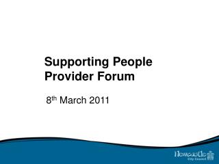 Supporting People Provider Forum