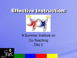 Effective Instruction: