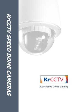 KrCCTV SPEED DOME CAMERAS