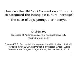 How can the UNESCO Convention contribute to safeguard the intangible cultural heritage?