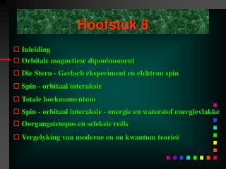 Hoofstuk 8