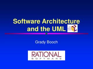 Software Architecture and the UML