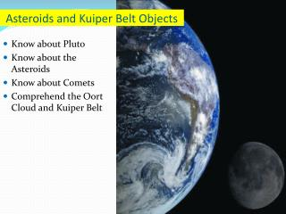 Asteroids and Kuiper Belt Objects