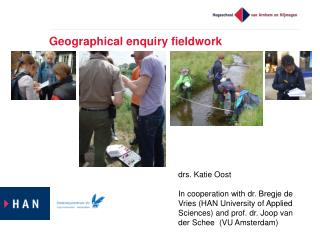 Geographical enquiry fieldwork