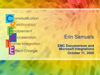 Erin Samuels