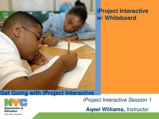 iProject Interactive  w/ Whiteboard