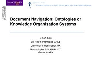 Document Navigation: Ontologies or Knowledge Organisation Systems