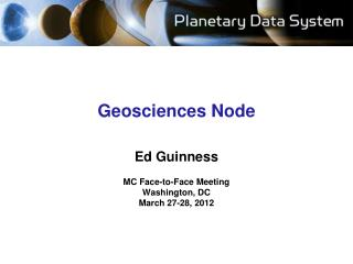 Geosciences Node