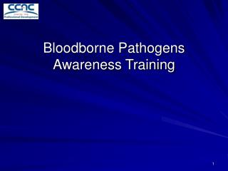 Bloodborne Pathogens Awareness Training