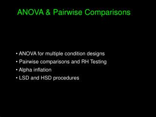 H0: Tested by ANOVA